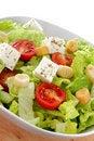Free International Green Salad Whit Tomato End Feta Royalty Free Stock Images - 22945219
