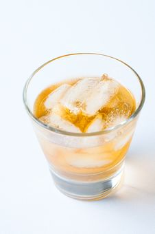 Free Cold Drink With Ice Royalty Free Stock Photography - 22940757