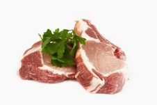 Free Pork Cutlet Royalty Free Stock Images - 22941199