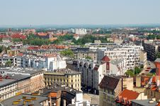 Free Panoramic Wroclaw Stock Photo - 22941850