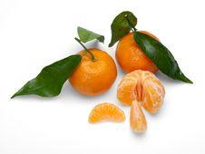 Free Tangerine Fruits. Royalty Free Stock Image - 22942266