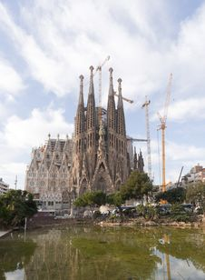Free Sagrada Familia Stock Photography - 22942952