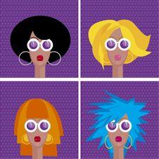 Haircut Set Royalty Free Stock Image