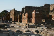 Free Pompei Royalty Free Stock Image - 22947566