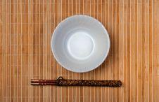 Free Chopstick On Bamboo Stock Photo - 22947600
