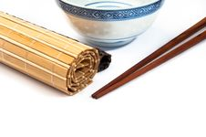 Free Chopstick On Bamboo Royalty Free Stock Images - 22947709