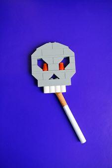 Free Symbol Of Harm Of Smoking Stock Photography - 22948352