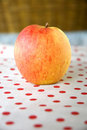 Free Apple Put On Polka Dots Stock Photos - 22954823