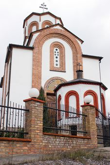 Free Orthodox Church In Vrsac - St. Theodore Royalty Free Stock Photography - 22951047