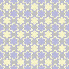 Free Seamless Background With Flowers Royalty Free Stock Photos - 22951108