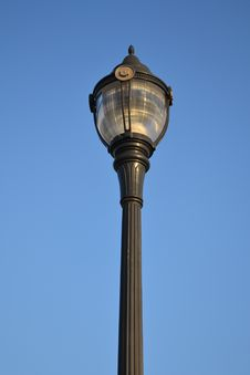 Free Light Post, Mt.Peak Park Royalty Free Stock Image - 22951516