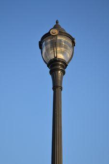 Light Post, Mt.Peak Park Royalty Free Stock Image