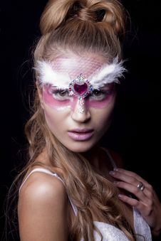 Free Holiday Make-up Stock Images - 22951524