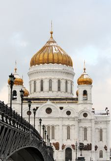 Free Christ The Saviour Cathedral In Moscow Stock Photos - 22952193