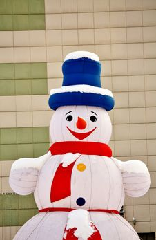 Free Snowman Royalty Free Stock Images - 22952269