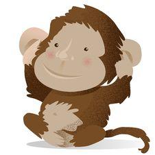 Free Monkey Royalty Free Stock Image - 22956696