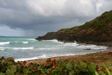 Free Rough Seas In Puerto Rica Stock Photography - 22957102