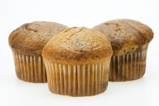 Free Muffins On White Royalty Free Stock Image - 22957196