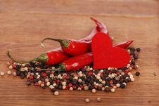 Free Hot Heart Symbol Stock Photography - 22958112