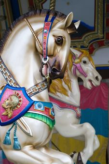 Free Carousel Horse Royalty Free Stock Photo - 22959345