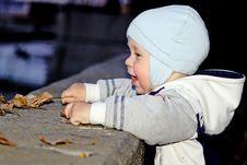Boy Smiles Royalty Free Stock Photos