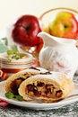 Free Homemade Apple Strudel Stock Photo - 22965080