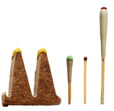Free Different Matchsticks For Hunting, Isolated Royalty Free Stock Images - 22960189