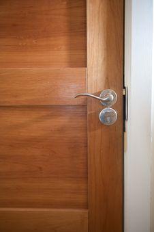 Free Wooden Door Close Up Stock Photos - 22960433