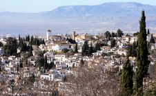 Free El Albaycin Royalty Free Stock Photo - 22960895
