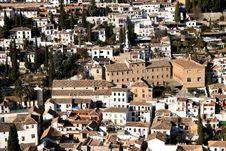 Free El Albaycin Royalty Free Stock Photo - 22960955