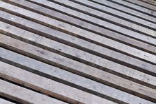 Free Timber Wooden Footpath Royalty Free Stock Image - 22966616