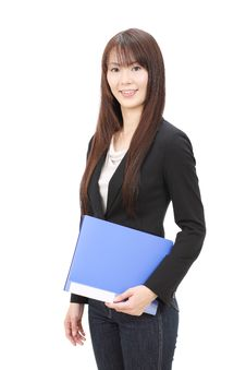 Free Young Asian Businesswoman Stock Images - 22966634