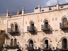 Free House In The Old City Jerusalem Royalty Free Stock Photography - 22968047