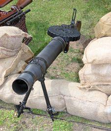 Free Military Machine Gun. Stock Photo - 22969400