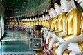 Free Buddhas At Sagaing, Mandalay Stock Image - 22971751