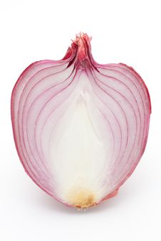 Free Red Onion Section Royalty Free Stock Photography - 22971317
