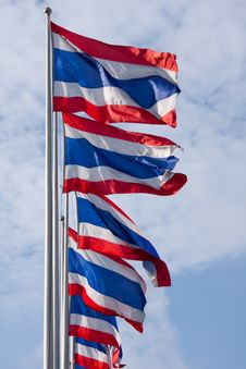 Free Thailand Flags Stock Images - 22975164