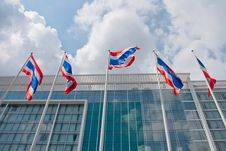 Free Thai National  Flags Royalty Free Stock Image - 22975246