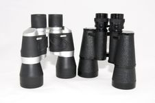 Free Two Pair Of Binoculars Stock Photography - 22979112