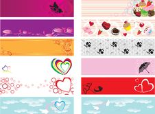 Free Banner Valentines Day Stock Photos - 22980213