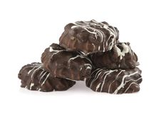 Free Chocolate Thin Biscuits Stock Photo - 22980970