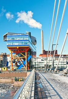 Free Finland,Helsinki Industrial Stock Photography - 22981722