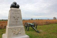Free 6th Maine Battery Monument Royalty Free Stock Image - 22984186