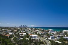 Free Gold Coast View Royalty Free Stock Image - 22986036