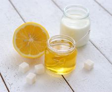 Honey, Milk And Lemon
