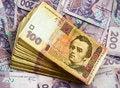 Free Stack Of 100 Ukrainian Bills Royalty Free Stock Photo - 22995885
