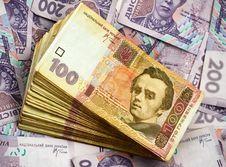 Stack Of 100 Ukrainian Bills Royalty Free Stock Photo