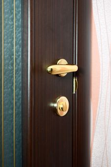 Free Door Knob Royalty Free Stock Image - 22996276