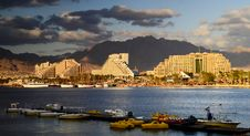 Free View On Northern Beach Of Eilat, Israel Stock Image - 22996841