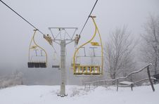 Free Ski Lift Chairs Stock Photos - 22997043